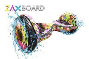 Гироскутер Zaxboard ZX-11 Г Фиолетовый граффити фото