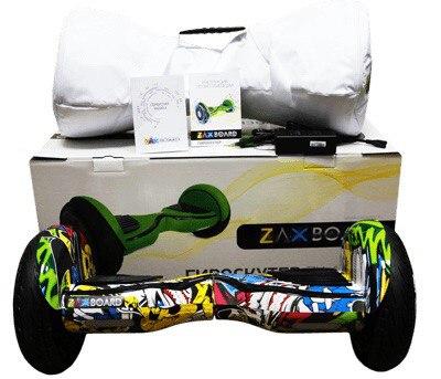Гироскутер Zaxboard ZX-11 Pro Жёлтый граффити фото