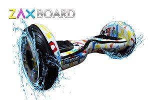 Гироскутер Zaxboard ZX-11 Pro Белый граффити фото