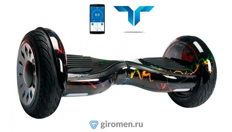 Особенной чертой гироскутера Smart Balance SUV 10 Premium APP с самобалансировкой 03