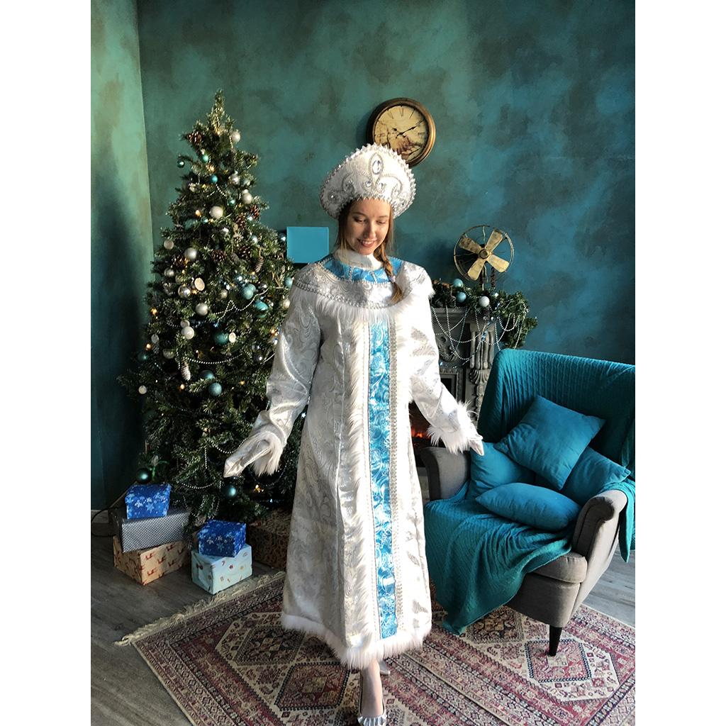 Костюм снегурочка «снежная королева»
