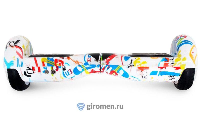Гироскутер Smart balance 6.5 белый граффити