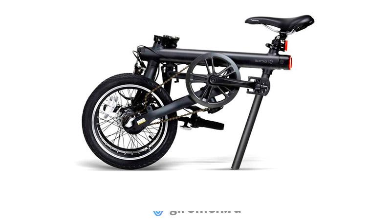 Электровелосипед складной Xiaomi Mijia QiCycle Черный
