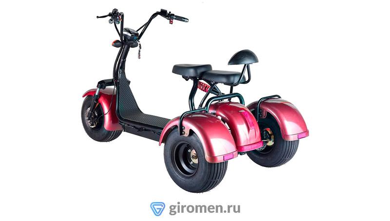 Трехколесный электроскутер Skyboard Three Coco красный