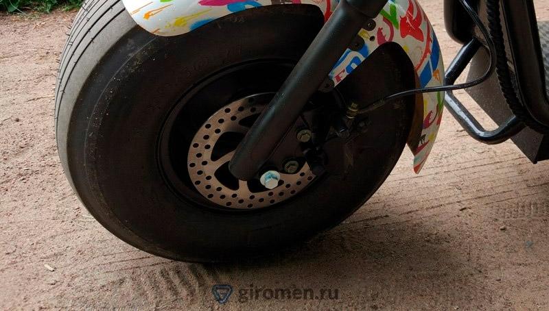 Электроскутер Eco Bike Citycoco Harley 1200w