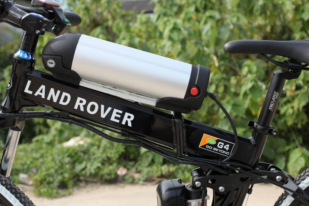Электровелосипед Land Rover