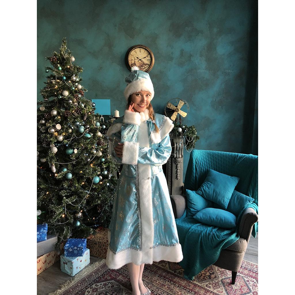 Костюм снегурочка «Бирюза»