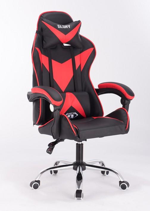 Игровое кресло Glory красное