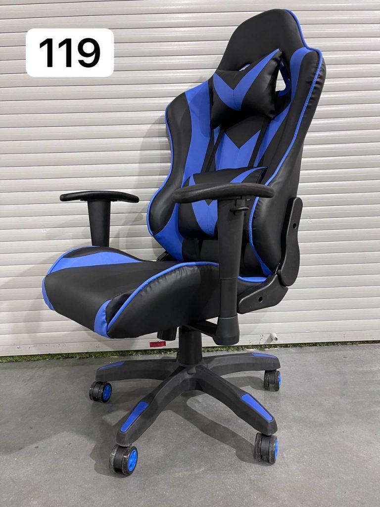 Игровое кресло Glory синее