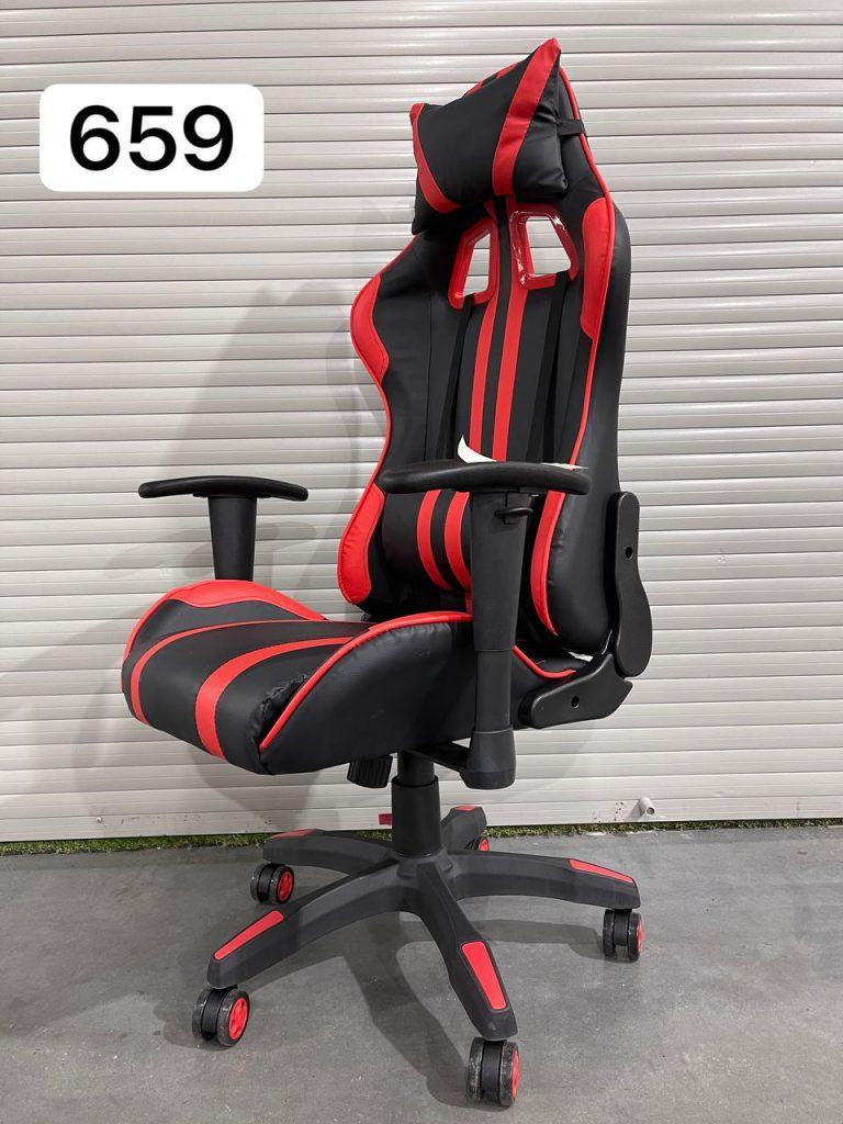 Геймерское кресло Domtwo красное