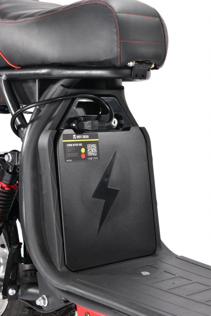 Электроскутер WS-PRO+ 2500W